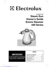 ELECTROLUX 350 STEAM GUN Owner's Manual