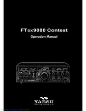 Yaesu ftdx 9000 contest manuals manuals and user guides for yaesu ftdx 9000 contest we have 6 yaesu ftdx 9000 contest manuals available for free pdf download operation manual gumiabroncs Gallery