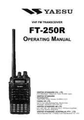 yaesu ft 250r manuals rh manualslib com User Guide Icon User Guides Samples