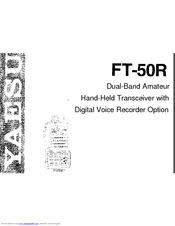 yaesu ft 50r manuals rh manualslib com User Guides Samples iPad Manual