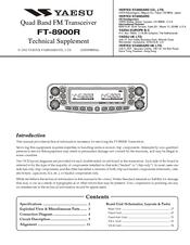 YAESU FT-8900R Service Manual