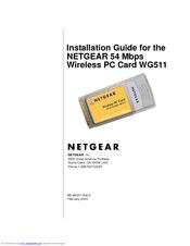 Netgear wireless pc card 32-bit cardbus wg511