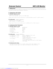 NEC V421-2 Communications Manual