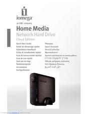 iomega 34337 home media network hard drive nas server manuals rh manualslib com iomega home media network hard drive manual pdf iomega network hard drive reset