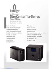 iomega ix2 200 storcenter network storage nas server manuals rh manualslib com iomega storcenter ix2 reset password iomega storcenter ix2 reset button
