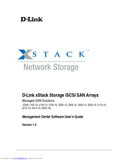 D-Link xStack Storage DSN-5000-10 Software User's Manual
