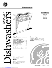 ge triton xl pdw7700 series manuals rh manualslib com ge triton dishwasher manual GE Profile Triton Dishwasher