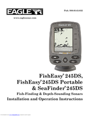 EAGLE FISHEASY 245DS - ADDITIONAL Installation And Operation Instructions Manual