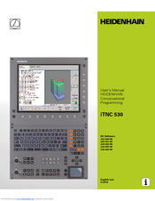 heidenhain itnc 530 conversational programming manuals rh manualslib com heidenhain nd 530 manual heidenhain itnc 530 technical manual