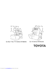 TOYOTA SL1T-X OTHER Manual
