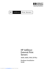 HP 170X - JetDirect Print Server Hardware Installation Manual