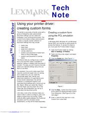 Lexmark XM5170 Tech Note