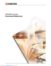 Kyocera KM-2050 Command Reference Manual