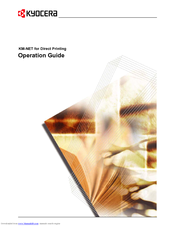 Kyocera KM-2050 Operation Manual
