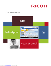 RICOH PRO C651EX QUICK REFERENCE MANUAL Pdf Download