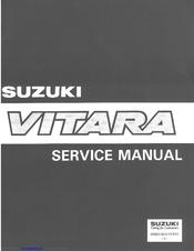 suzuki vitara service manual pdf download rh manualslib com 1994 Suzuki Vitara 1990 Suzuki Vitara