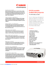 Canon 2105B002AA Specifications