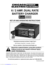 chicago electric 45005 set up and operating instructions manual pdf rh manualslib com