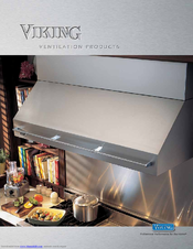 Viking VIPR161SS Manuals on
