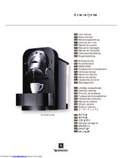 nespresso gemini cs 100 manuals rh manualslib com Gemini CS 100 Pro Gemini CS 100 Pro