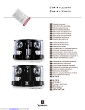 nespresso gemini cs 220 pro manuals. Black Bedroom Furniture Sets. Home Design Ideas