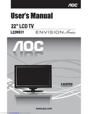 aoc l22w831 user manual pdf download rh manualslib com User Webcast User Guide Cover