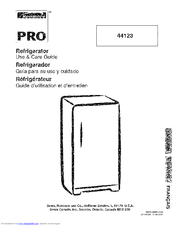 Kenmore 44123 Use & Care Manual