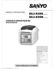 sanyo ecj s35s micom rice cooker manuals rh manualslib com