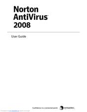 symantec norton antivirus 2008 manuals rh manualslib com symantec endpoint encryption user manual symantec dlp user manual