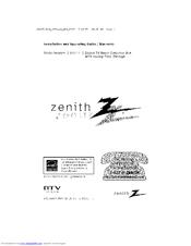 zenith dtt901 installation and operating manual pdf download rh manualslib com Zenith DTT901 Owner's Manual zenith model dtt901 manual
