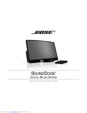 bose sounddock portable digital music system manuals rh manualslib com bose sounddock 3 manual bose sounddock manual service