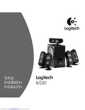 LOGITECH 970114-0403 - X 530 5 1-CH PC MULTIMEDIA HOME THEATER