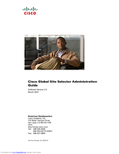 Cisco GSS-4492R-K9 Administration Manual