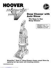 Hoover Steamvac Dual V F7441 Manual