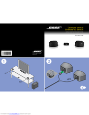 bose cinemate series ii manuals rh manualslib com Bose CineMate GS Series II Problems Bose CineMate Series II Parts