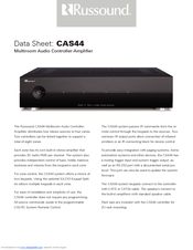 RUSSOUND CAS44 Datasheet