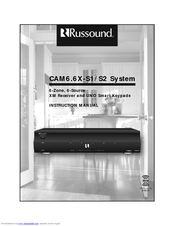 RUSSOUND CAM6.6X-S1 Instruction Manual