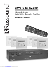 RUSSOUND CAV6.6-S2 Instruction Manual