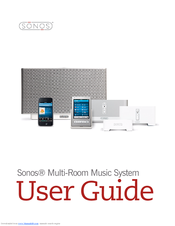 sonos zoneplayer s5 manuals rh manualslib com sonos connect user guide sonos one user guide