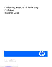 HP 166207-B21 - Smart Array 5302/32 RAID Controller Reference Manual