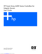 HP Smart Array 6400 Series User Manual