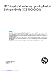 HP 6400/8400 Software Manual