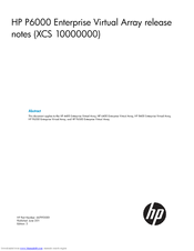 HP 6400/8400 Release Note