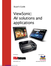 ViewSonic PRO8500 Buyer's Manual