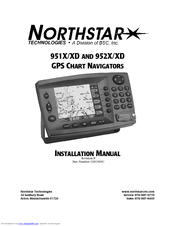 northstar 951x installation manual pdf download rh manualslib com Northstar GPS 952X Surplus North Star Marine GPS