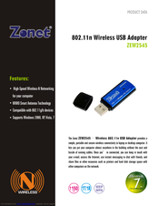 ZONET ZEW2507 64BIT DRIVER