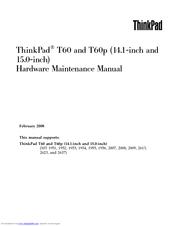 ibm thinkpad t60 hardware maintenance manual pdf download rh manualslib com thinkpad t60 service manual lenovo thinkpad t60 manual pdf