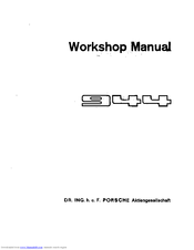 Porsche 944 Volume 5 Electrical Manual Pdf Download Manualslib
