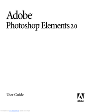 adobe photoshop elements 2 user manual pdf download rh manualslib com Adobe Premiere Elements Adobe Photoshop Elements 13