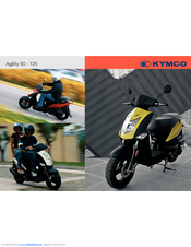 Kymco agility 125 scooter online service manual cyclepedia.